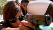 Deb with gun S4E5