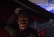 Dexter kills Cal with cleaver