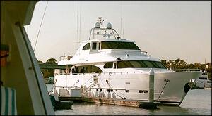 Miles Castner's yacht 8