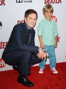 Michael C. Hall Jadon Wells