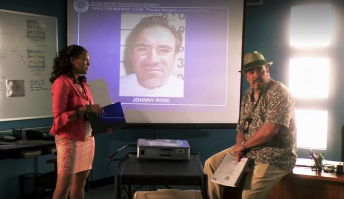 Johnny Rose briefing