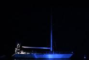 3 Rudy's yacht at night