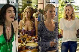 Women in Dexter's Life