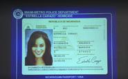 Estrella's passport