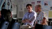 Masuka tells Dexter that Dr. Vogel is known as the psychopath whisperer