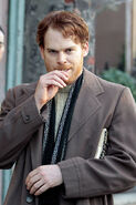Michael C. Hall and lollipop