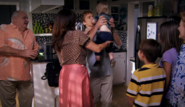 Family at Dexter's apartment