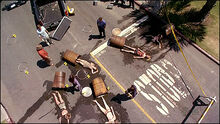 Barrels Accident