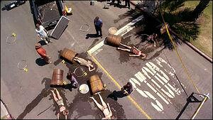 Barrels Accident