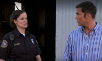 Officer Munoz and Quinn S4E11