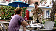Dexter stalks Boyd at a cafe