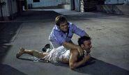 Dexter recaptures Lance Robinson