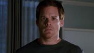 Dexter finds Debra on his apt