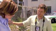 Dexter tells Debra her hair is beautiful