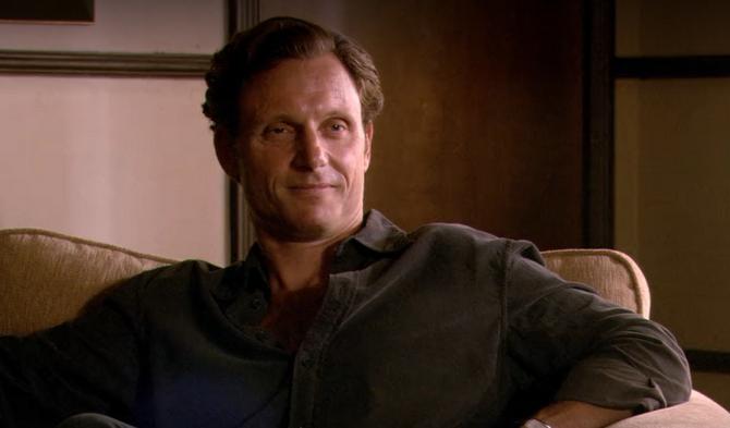 Dr. Emmett Meridian counsels Dexter