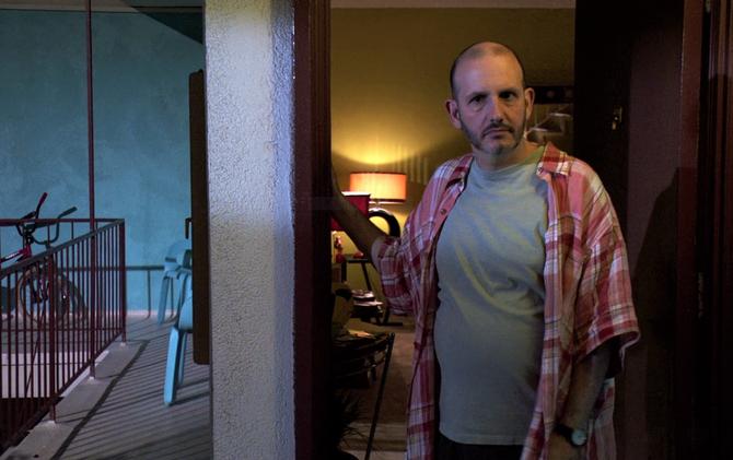 Kyle answers door