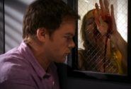 Dexter traps Beth Dorsey with poison gas
