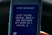 Dexter texts Garza