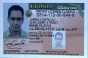 Jorge's Driver License
