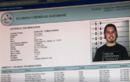 Garza's police file