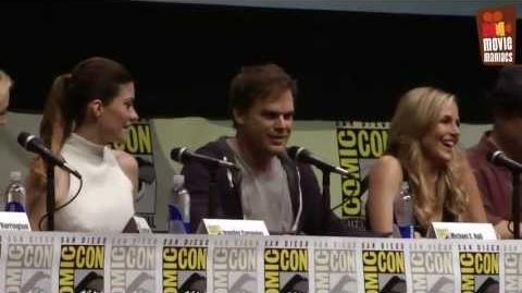 Dexter Season 8 Final Panel ComicCon 2013