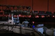6 Dexter cleans his boat