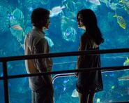 Dexter meets Lila at the aquarium
