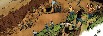 Workers mar dorado