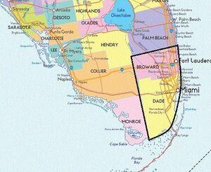 Broward and Dade Counties
