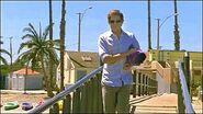 Dexter plants evidence near pier to frame Doakes