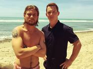 Jake Weary and Shawn Hatosy
