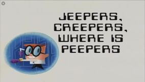 Jeepers, Creepers, Where Is Peepers? title card
