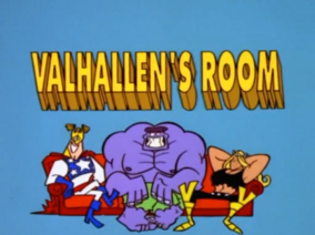 Valhallens Room Title Card