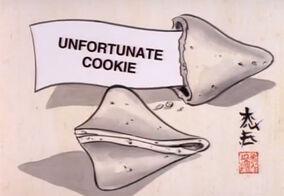Unfortunate Cookie title card