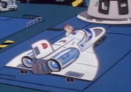 Dexter's Space Shuttle