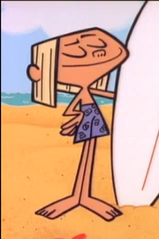 Dexter's Lab Minor Characters - Surfer Boy)