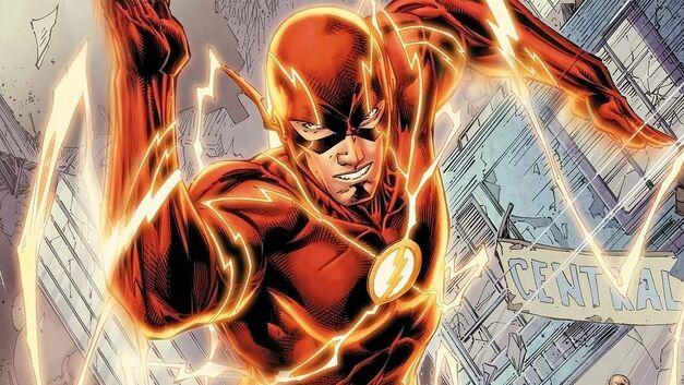 the-flash-comics-running