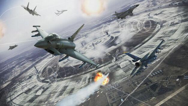 Ace Combat Infinity Stonehenge Battle