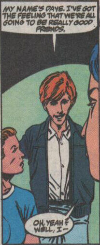 He disguised himself as a young David Spade.