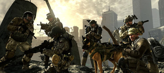 Call of Duty Timeline: Call of Duty: Ghosts.