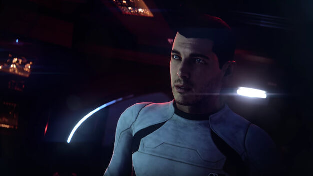 Scott Ryder Mass Effect Andromeda