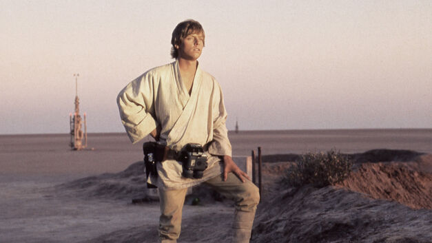 star wars new hope luke skywalker