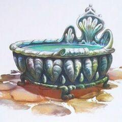 Queen Clarion's tub