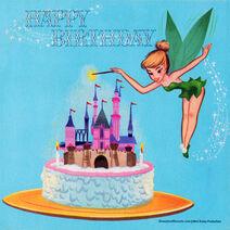 Happy birthday american telecard tinker bell