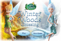 Winter woods crossing - home