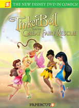 Tinker bell and the great fairy rescue graphic novel