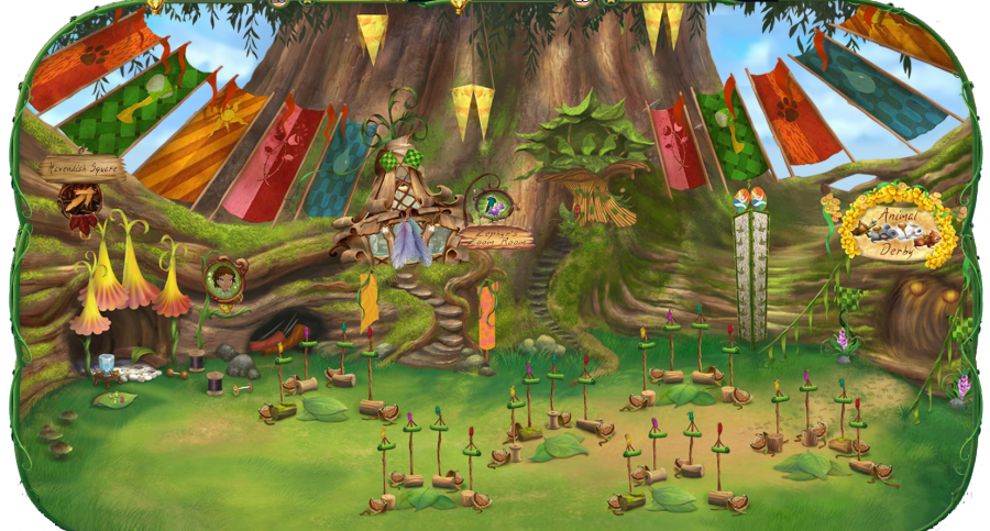 tinkerbell pixie hollow games movie online