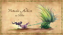 Tinker Bell - Illustration from the credits sequence - vidia and thistle