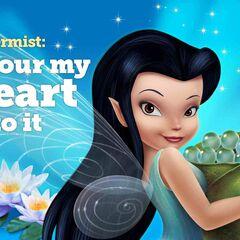Disney Fairies: Silvermist I proud my heart into it.