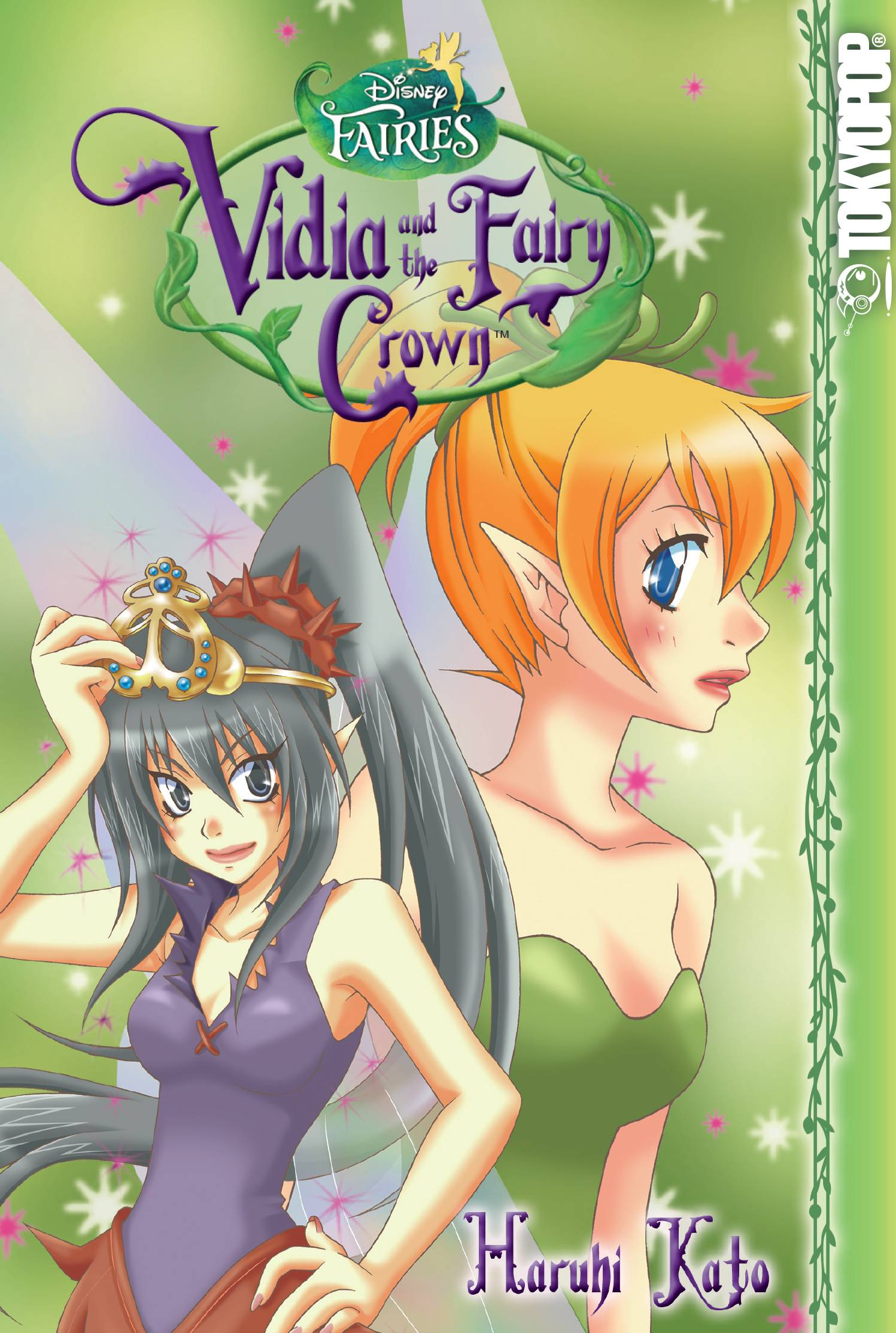 Vidia Fairy Crown Manga